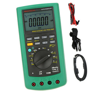 MS8218 50000 Count Digital LCD Multimeter Voltage Current Frequency Tester