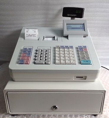 Sharp Xe-A307 Electronic Cash Register Very Easy To Use