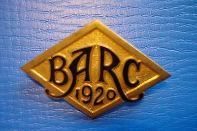 Rare 1920 Brooklands Barc Badge