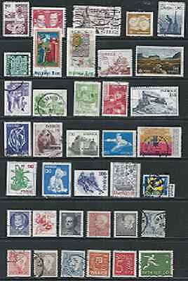 #4198 SWEDEN Lot/Collection Used Stamps