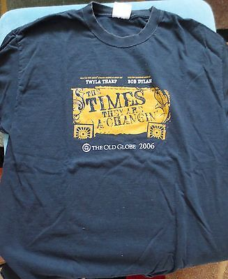 The Times They Are A-Changin' Tee  shirt-the show