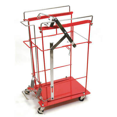 COVIDIEN Wire Cart,Steel,Red, 8991FP, Red
