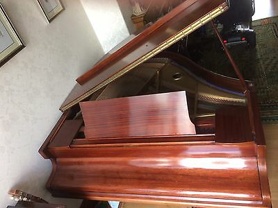 Baby Grand Piano Rosewood, concert pitch, French polished, serviced regularly