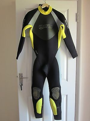 Mares Thermic Evolution 5mm Full Length Wetsuit - Size 3 - Scuba Diving