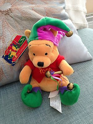 """Collectable Winnie The Pooh"""" The Jester Beanie"""""""