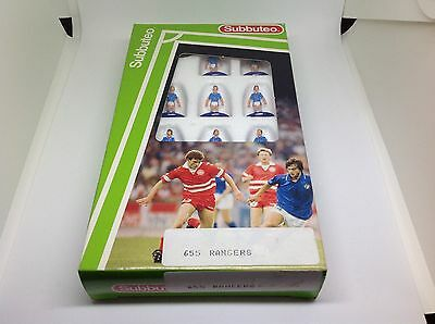 Boxed Subbuteo Rangers L/W Light Weight Team No 655