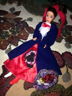 Mary Poppins Barbie Doll Good Played With Condition.