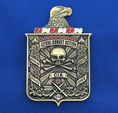 Central Intelligence Agency Paramilitary Operations CIA NCS SAD Challenge Coin