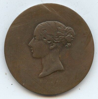 New Brunswick Exonumia Penny Coin (#1044) Old Penny. Smoothed Obv. Except