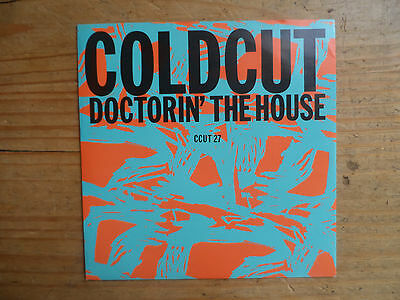 "Coldcut Doctorin' The House Rare 7"" P/S Single Ahead 1988 VG+ Condition.."