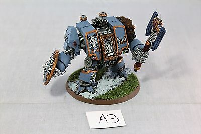 Warhammer Space Marine Space Wolf Venerable Dreadnought Well Painted