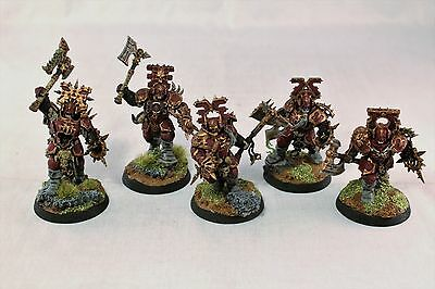Warhammer Age of Sigmar Blood Warriors Pro Painted