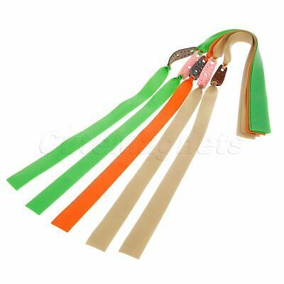 5 Pcs Elastic Flat Rubber Band Thickness 0.85mm for Hunting Slingshot Catapult