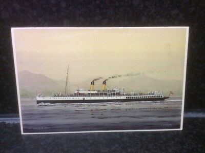 200. TS Duchess of Argyll Postcard