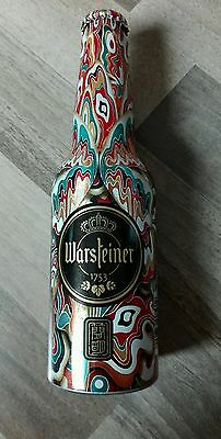 Warsteiner Bier Aluflasche Limitiert ART COLLECT Voll Full Beer Bottle 1/5