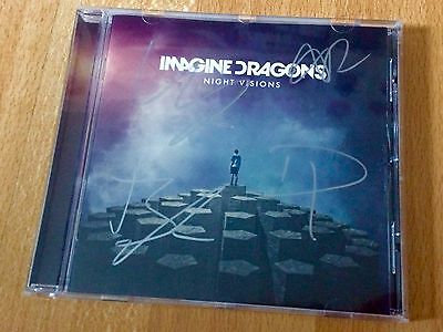 Imagine Dragons Signed Night Visions CD
