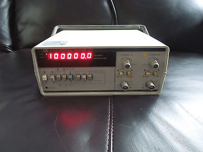 Hp 5314A Hewlett Packard Universal Frequency Counter 100Mhz Opt 001 Tcxo 002 Bat