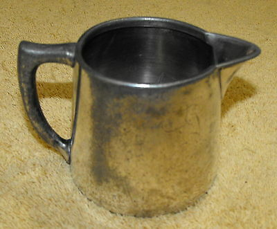 Antique 1800's Reed & Barton 1580/b Syrup Pitcher Silver Plated Collectible