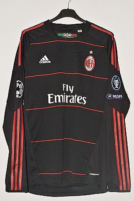 Pato AC Milan Match Worn/Issued Player Spieler Trikot Shirt Maglia vs Ajax