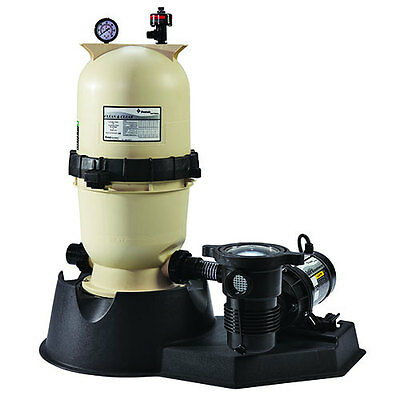Pentair 100 sq. ft. Clean & Clear Filter System With 1 ½ hp OptiFlo Pump