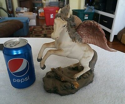 PEGASUS  fantasy figurine statue by Herco Gift Professional (lot118)