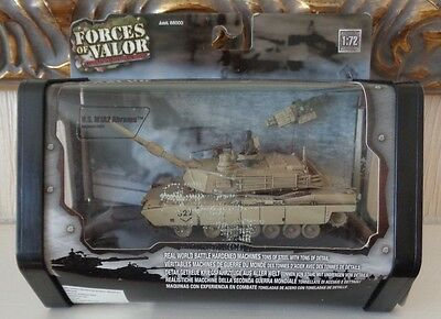 Boxed Unimax Forces of Valour 1/72 Scale US M1A2 Abrams Tank in Bagdad 2003 MIB