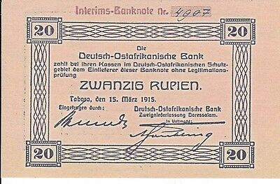 Reproductions--Replicas--Germany East Africa--1915--Unc