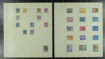 Weeda Singapore 1//72 Mint & Used collection on pages, 1948-63 issues CV $52.20