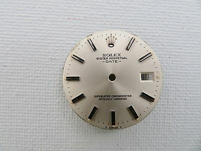 Rolex Oyster Perpetual Date Watch Dial - Original - 26.85 Mm