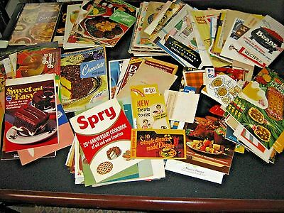 Antique & Vintage LARGE HUGE Lot of 172 Advertising Recipe Cookbooks Booklets