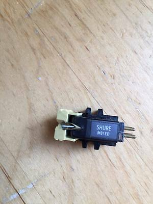 Shure m91ed  phono cartridge with stylus