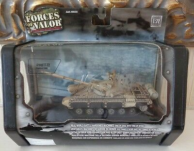 Boxed Unimax Forces of Valour 1/72 Scale Iraqi T-72 Tank in Bagdad 2003 MIB