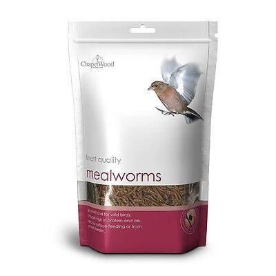 Finest Quality Mealworms   1kg Pack   Wlid Bird Care Garden Feeders   Nutritious