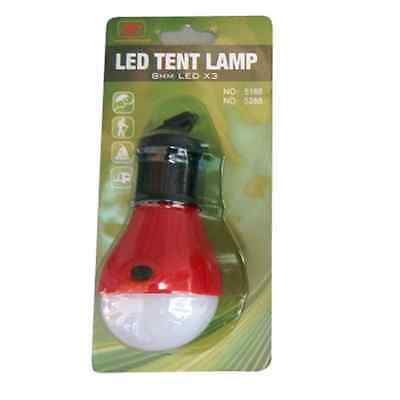 Outdoor Portable Hanging LED Camping Tent Light Bulb Fishing Lantern Lamp Y4