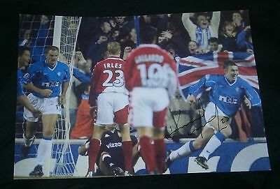 Kenny Miller  Rangers Fc Signed Photo