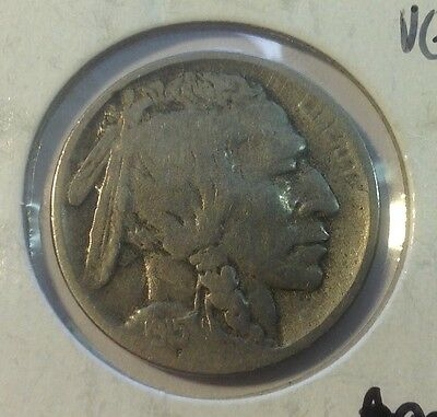 1915-D Buffalo Nickel, Better Date ** Free Shipping!                           2