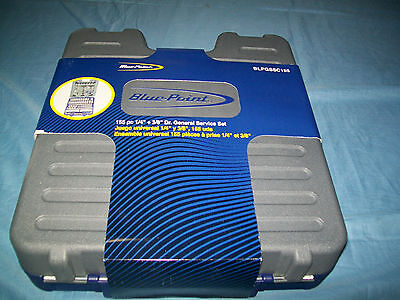 "NEW Blue-Point General Service 1/4"" & 3/8"" drive METRIC & SAE BLPGSSC155 SEALed"
