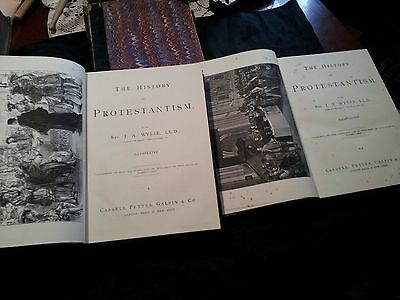 The History of Protestantism J.A. WYLIE 03 Volumes