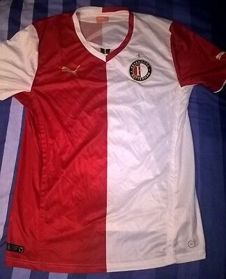 Feyenoord Home Shirt (2013/14) - Very Good Condition - Size Large