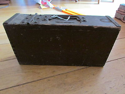 WW British Machinegun Ammo Box