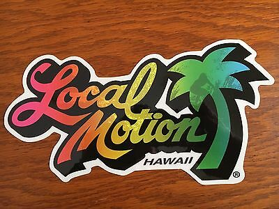 Local Motion Surfboard sticker Jumbo Surfboards vintage style surfing decal