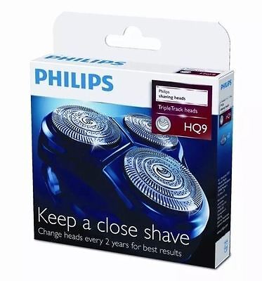 NEW Philips HQ9/50 Triple Track Replacement Shaving Heads HG81 HQ82 HQ91 series