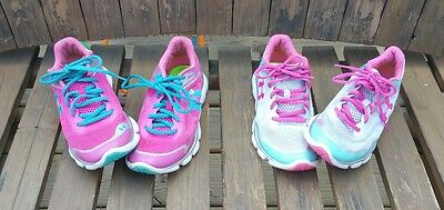 Women's Under Armour Tennis Athletic Running Shoes Size 6 & 6 1/2