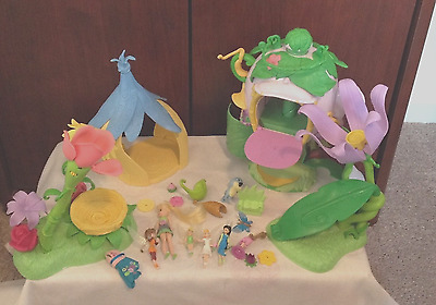 disney tinker bell fairies 4 piece playset with figures