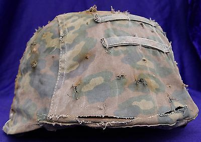 German WW2 Elite camo pattern helmet cover