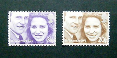 GB 1973 Issue - Full Mint Stamp Set - 'Royal Wedding'