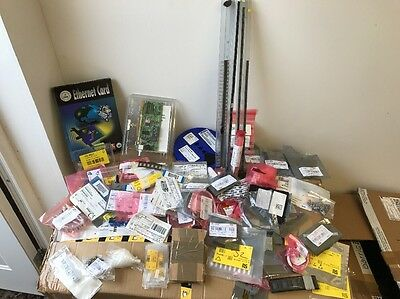 Great Job Lot of Various Electronic Components!