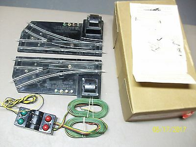 Pair American Flyer Remote Control Switches with Original Box & Instructions