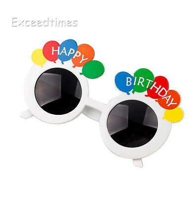 Funny Novel Happy Birthday Sunglasses Summer Theme Party Glasses Fancy Kids Dec