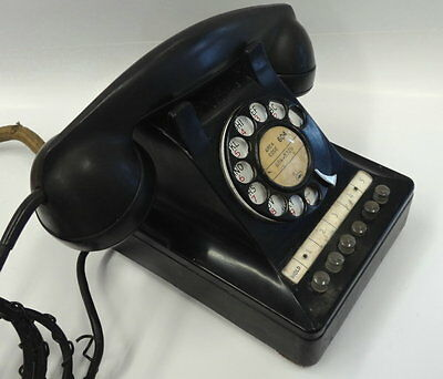 MULTI LINE ROTARY #464G PHONE in black